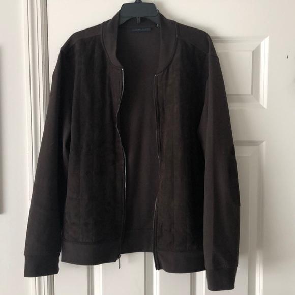Large brown lightweight men's jacket